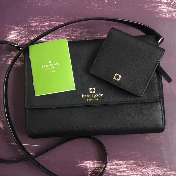 kate spade Handbags - Kate Spade Crossbody Purse & Coin Purse Set